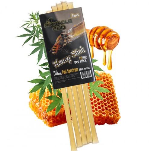 Honey Sticks 50mg (5-Pack) by Pinnacle Hemp
