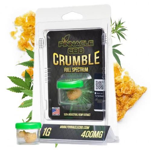 Crumble Full Spectrum 400mg 1gm by Pinnacle Hemp