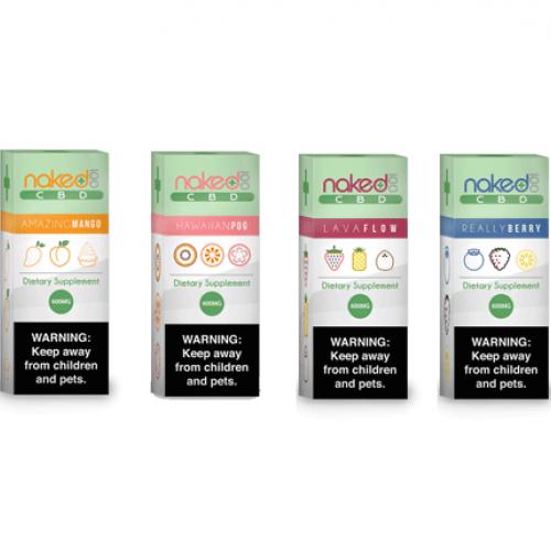 Naked 100 CBD E-Liquid by USA Vape Lab