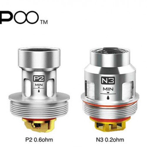 Uforce Tank Replacement Coils by Voopoo (5-Pcs Per Pack)