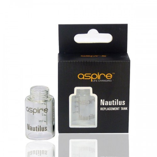 Nautilus Replacement Pyrex Glass by Aspire
