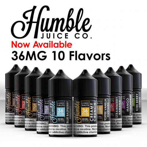 Humble Salt E-Liquid