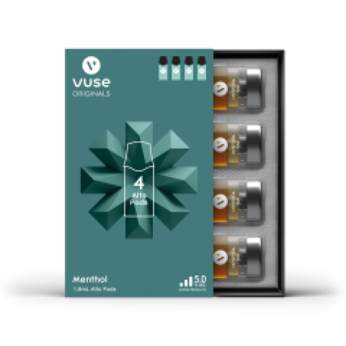 Alto Replacement Pods by Vuse 5.0 mg (4 Per Pack) (Box of 5 Packs)
