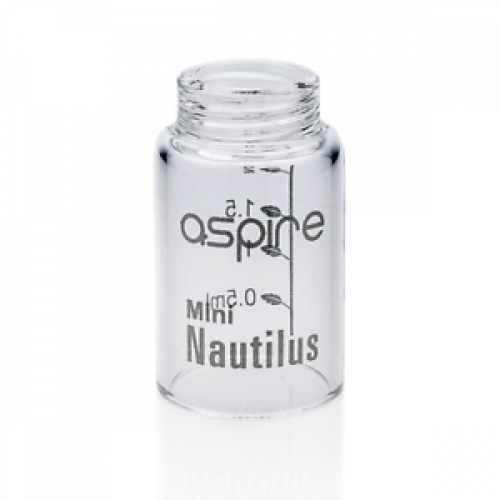 Nautilus Mini Pyrex Glass Tube by Aspire