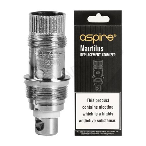 Nautilus Replacement Coils by Aspire (5-Pcs Per Pack)
