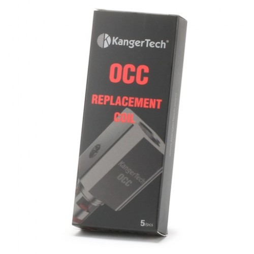 SubTank OCC Replacement Coils by Kanger (5-Pcs Per Pack)