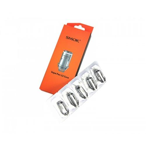 Vape Pen 22 Dual Core Replacement Coils by Smok (5-Pcs Per Pack)
