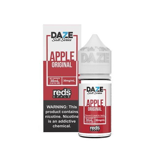 7 Daze Reds Tobacco Free Nicotine Salt E-Liquid