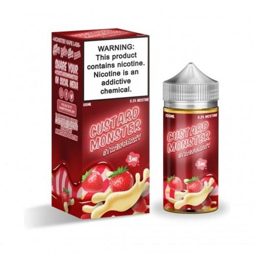 Custard Monster Tobacco Free Nicotine E-Liquid