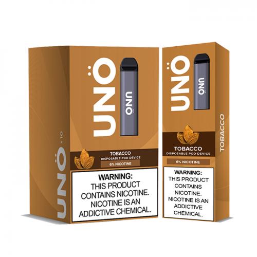 Uno Metallic Disposable (Box of 10)