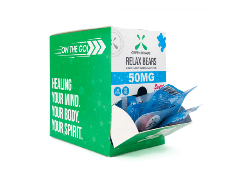 Relax Bears 50mg (Box of 30) by Green Roads