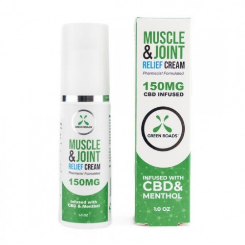 CBD Muscle and Joint Cream by Green Roads