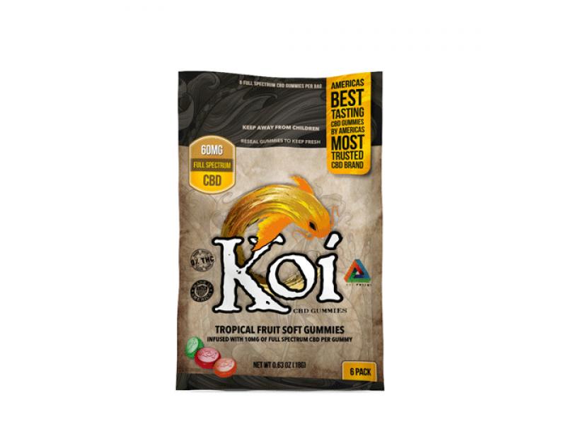 CBD Tropical Gummies Small Pack by Koi CBD