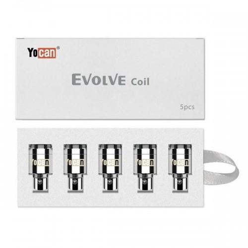 Evolve Quartz Dual Replacement Coils by Yocan