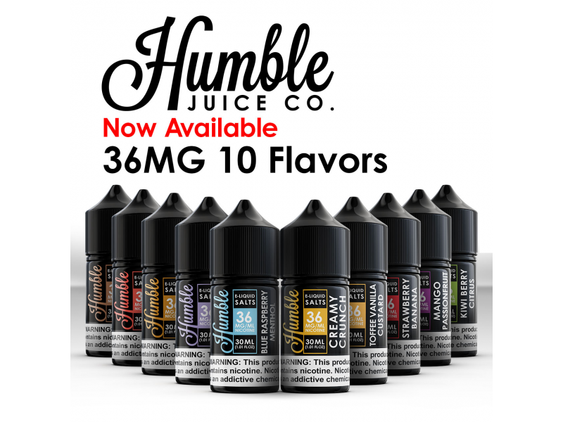 Humble Salt E-Liquid
