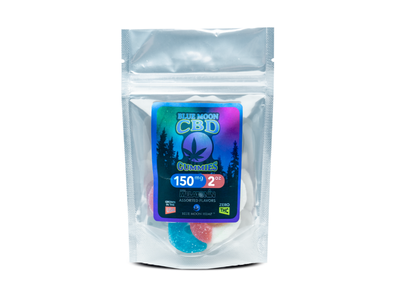 Melatonin Gummies 250mg by Blue Moon Hemp