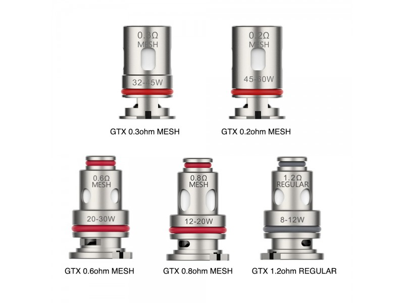 GTX Replacement Coils by Vaporesso