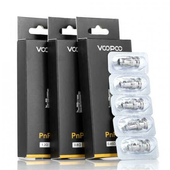 PnP Replacement Coils by Voopoo (5-Pcs Per Pack)