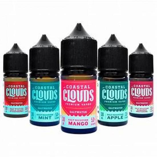 Coastal Clouds Salt E-Liquids