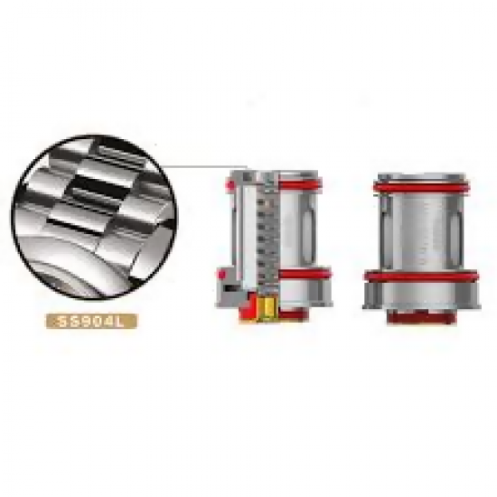 Crown 4 Replacement Coils by Uwell (4-Pcs Per Pack)