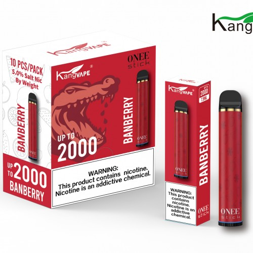 kangvape Onee Stick 2000 puff (Box of 10)