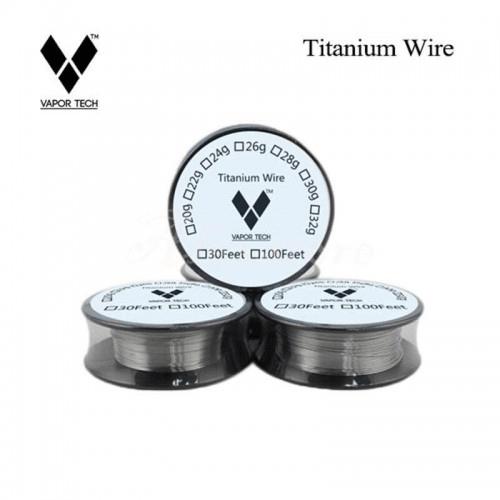 Pure Titanium Wire 30FT By Vapor Tech