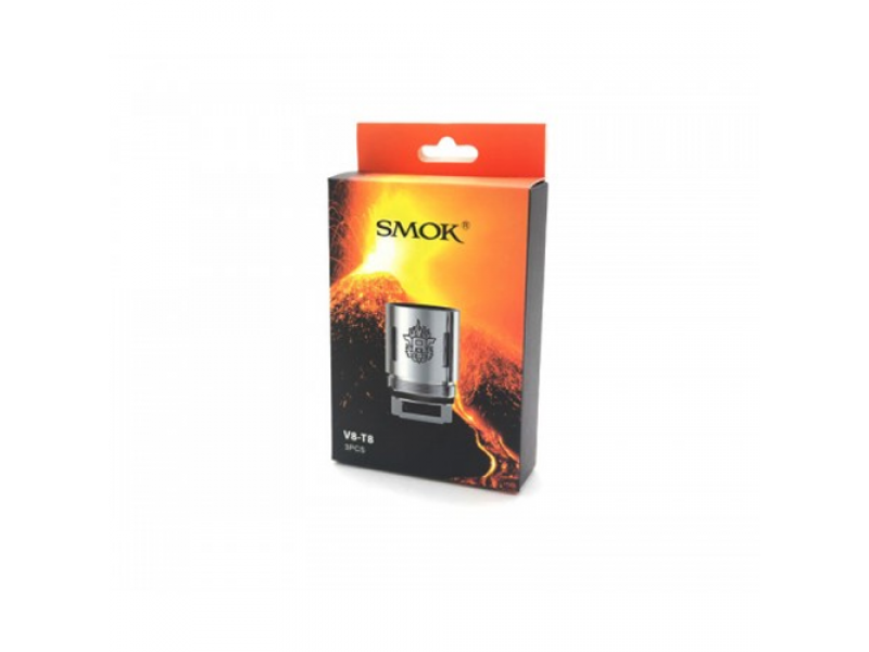 TFV8 - T8 Replacement Coils by Smok  (3-Pcs Per Pack)