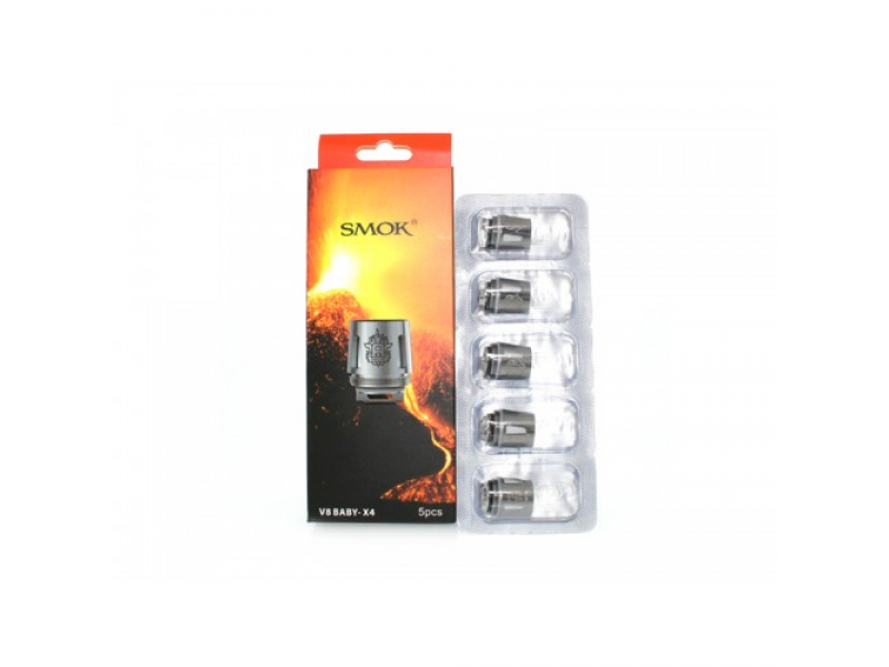 TFV8 Baby - T8 Replacement Coils by Smok  (5-Pcs Per Pack)