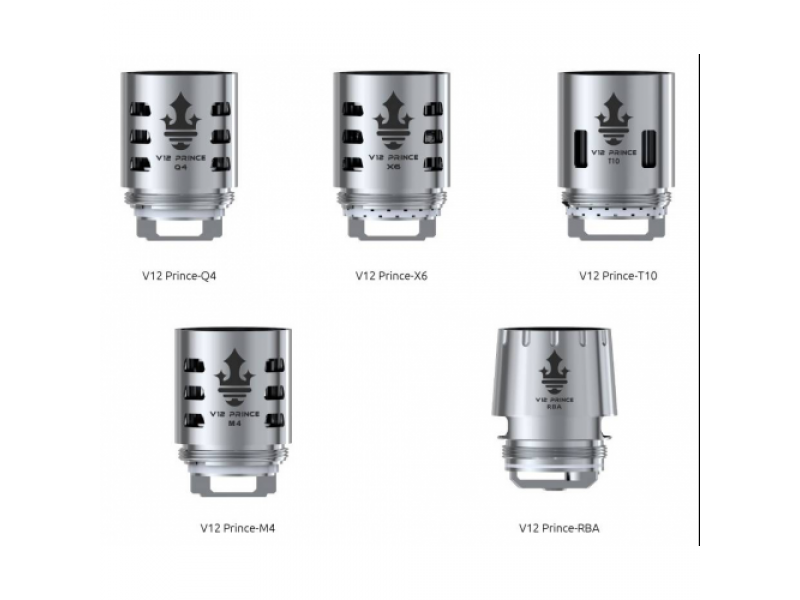 TFV12 Prince Replacement Coils by Smok (3-Pcs Per Pack)