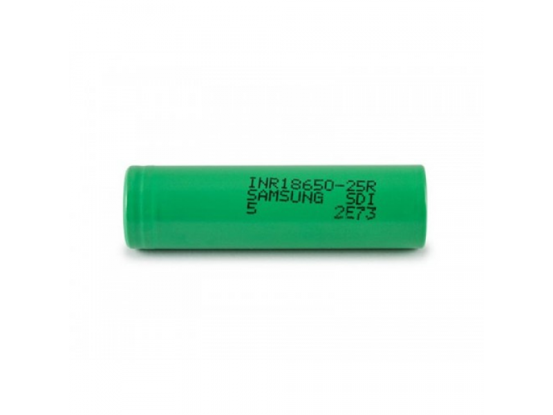 INR18650-25R 2500mAh Battery by Samsung