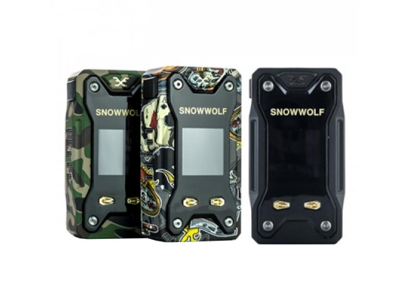 SnowWolf XFeng 230W TC Box Mod by Sigelei