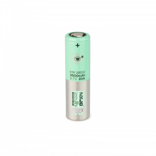 18650 3500mAh Flat Top Battery by MXJO