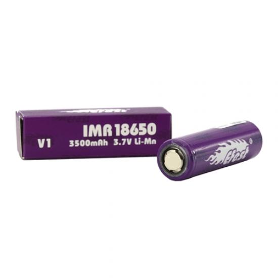 18650 3500mah Flat Top Battery by Efest