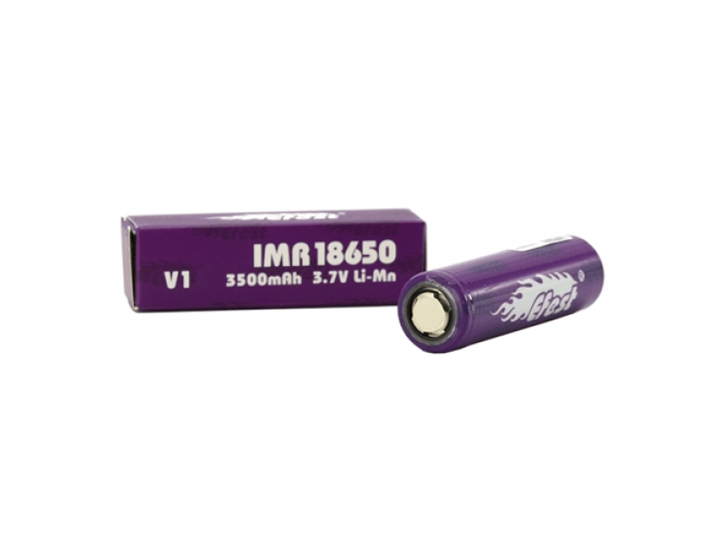 18650 3500mah Flat Top Battery by Efest