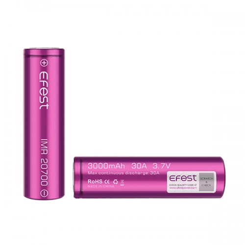 20700 Battery by Efest