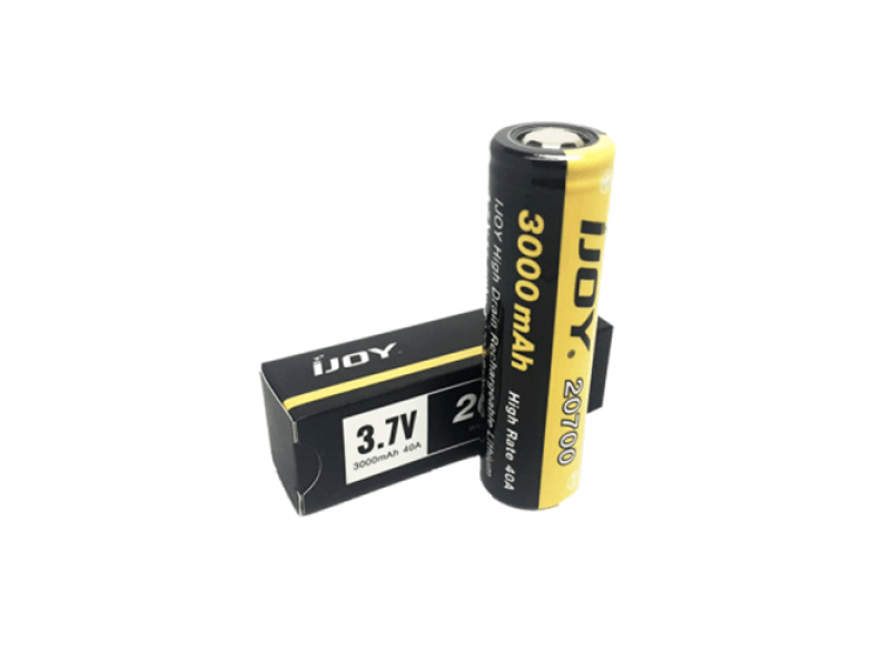 20700 3000mAh 40A Battery by iJoy