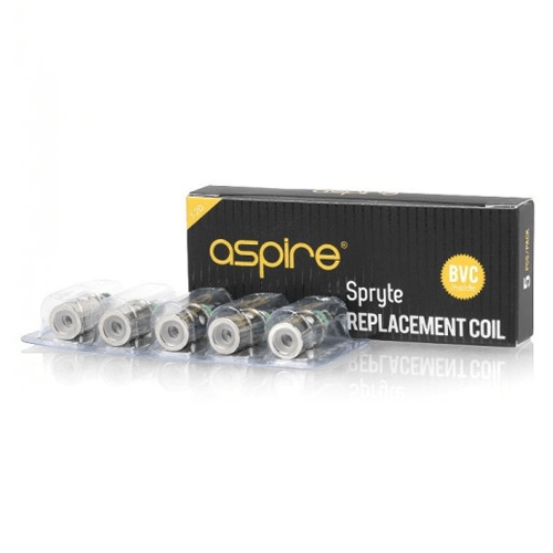BVC Atomizer Replacement Coils for Nicotine Salt by Aspire (5-Pcs Per Pack)