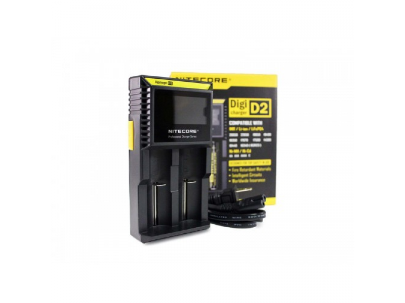 D2 Charger by Nitecore