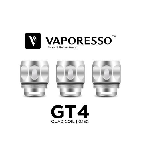 GT4 Replacement Coils by Vaporesso (3-Pcs Per Pack)