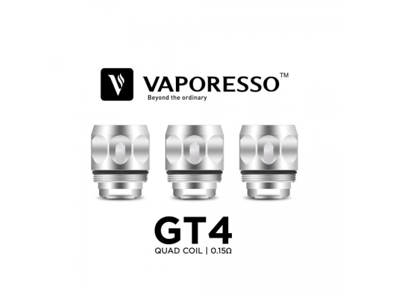 GT4 Replacement Coils by Vaporesso (3-Pcs Per Pack)