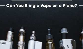 Can You Bring a Vape on a Plane?