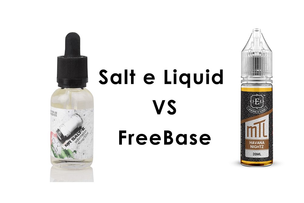 Difference between Nicotine Salt and Freebase