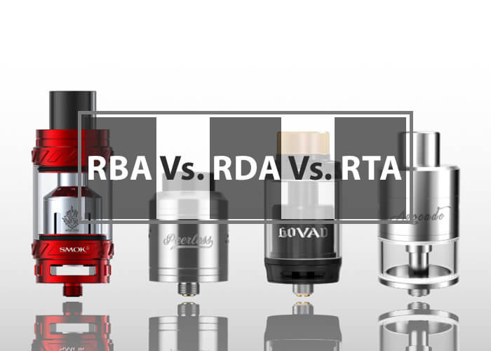 comparison between rba vs rda vs rta